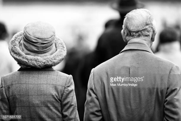 Camilla Duchess of Cornwall and Prince Charles Prince of Wales attend The Prince's Countryside Fund Raceday at Ascot Racecourse on November 23 2018...