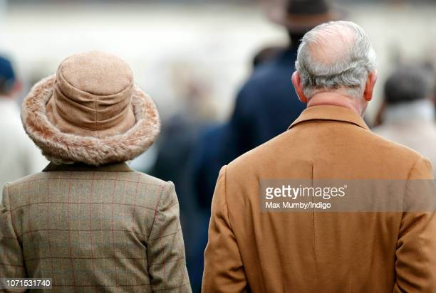 Camilla, Duchess of Cornwall and Prince Charles, Prince of Wales attend The Prince's Countryside Fund Raceday at Ascot Racecourse on November 23,...