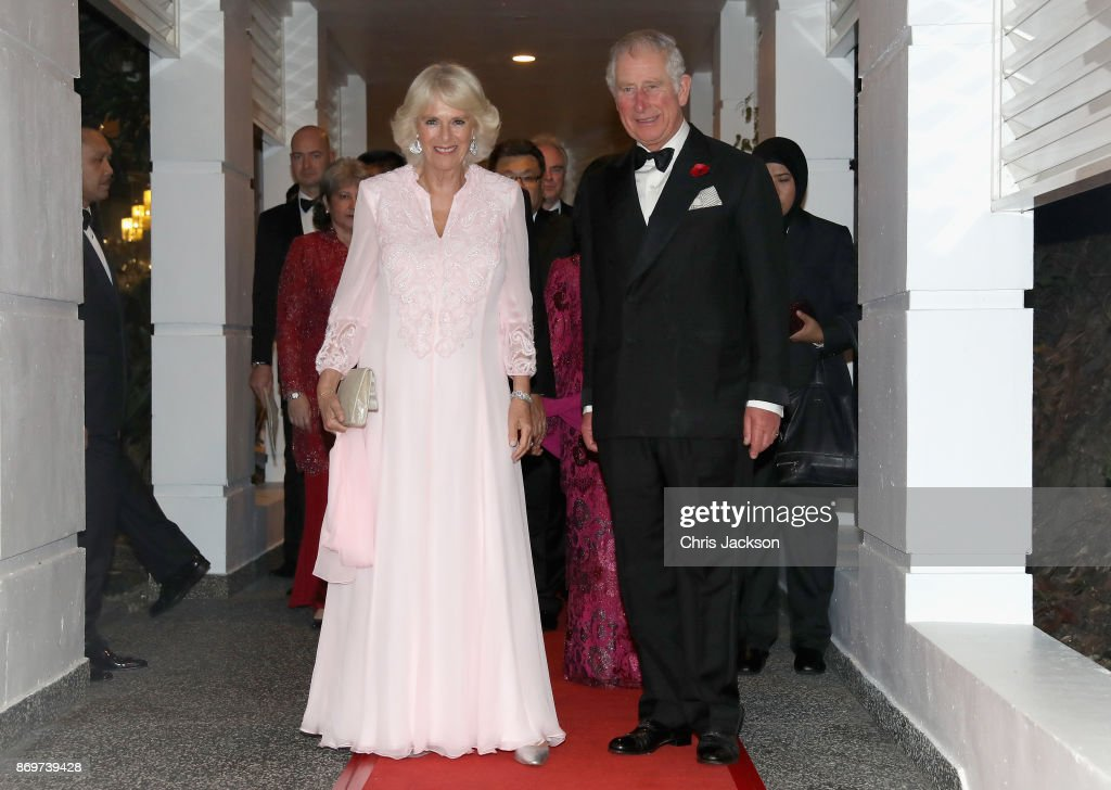 The Prince Of Wales & Duchess Of Cornwall Visit Singapore, Malaysia, Brunei And India - Day 5 : News Photo