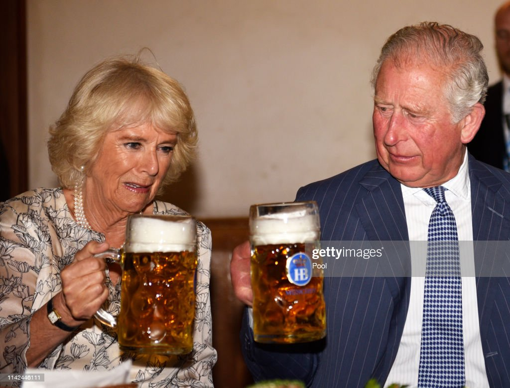 The Prince Of Wales And Duchess Of Cornwall Visit Germany - Day 3 - Munich : News Photo