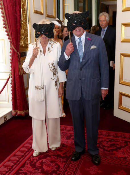 GBR: The Prince Of Wales And The Duchess Of Cornwall Host Reception For The Elephant Family Animal Ball