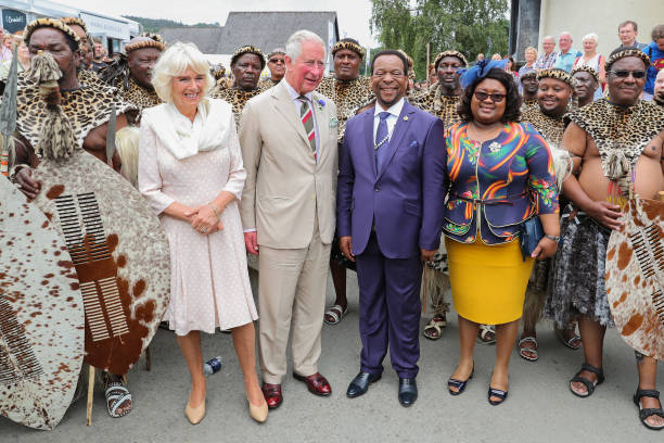 GBR: The Prince Of Wales And The Duchess Of Cornwall Attend The Royal Welsh Show