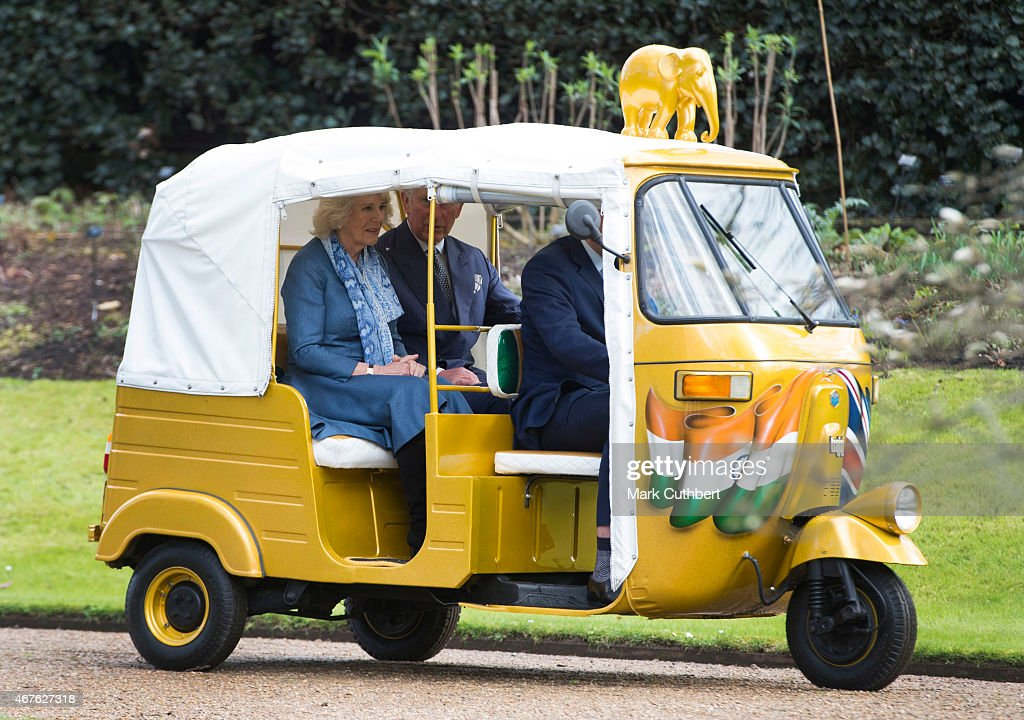 The Prince Of Wales And Duchess Of Cornwall Launch 'Travels To My Elephant' Rickshaw Race
