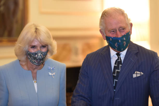 GBR: The Prince Of Wales And Duchess Of Cornwall Visit The Bank Of England