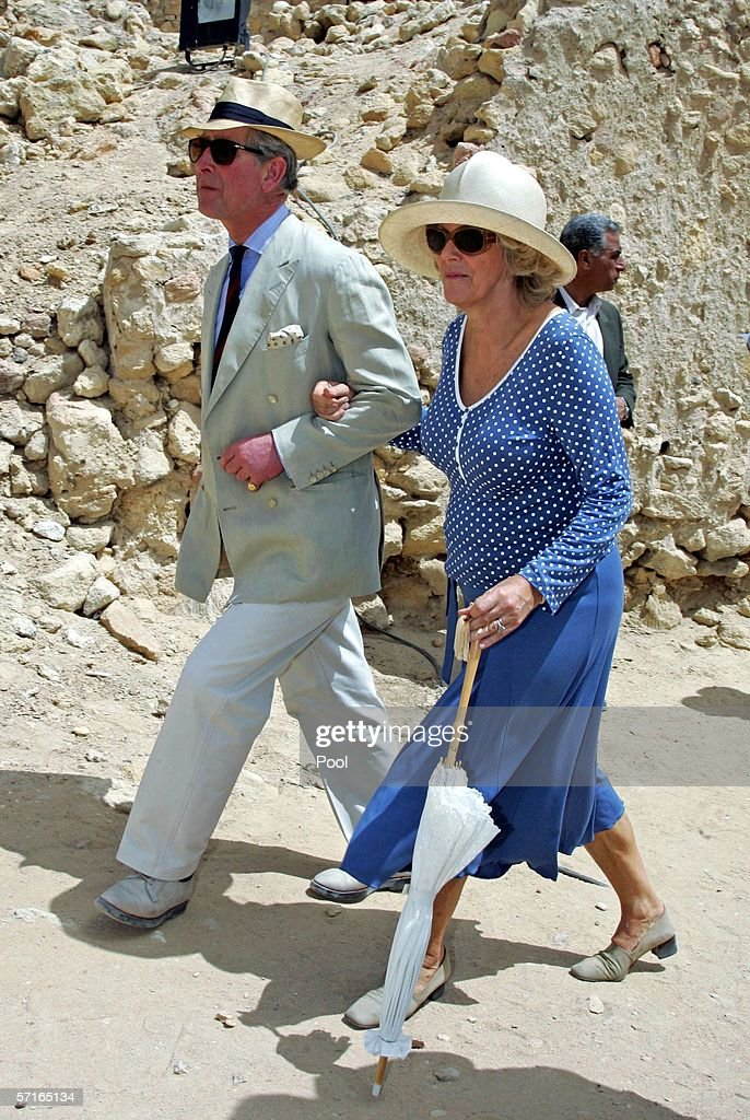 Charles & Camilla In Egypt: Day 4 : News Photo