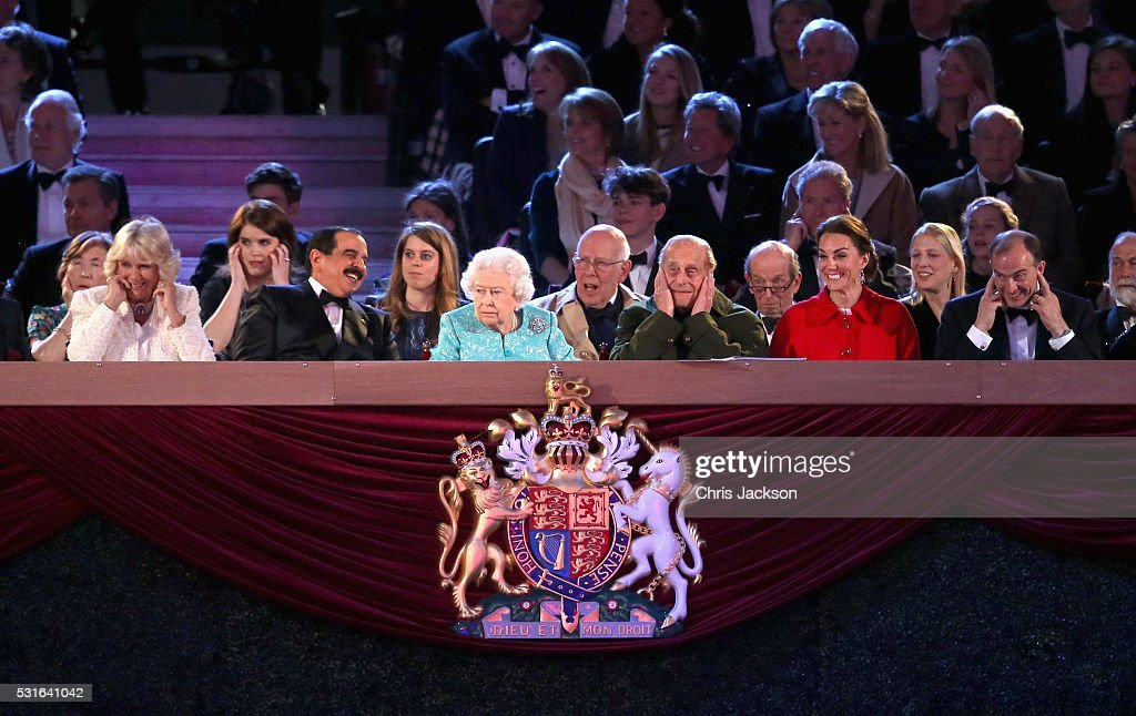 The Queens 90th Birthday Celebrations At Windsor- Final Night : News Photo