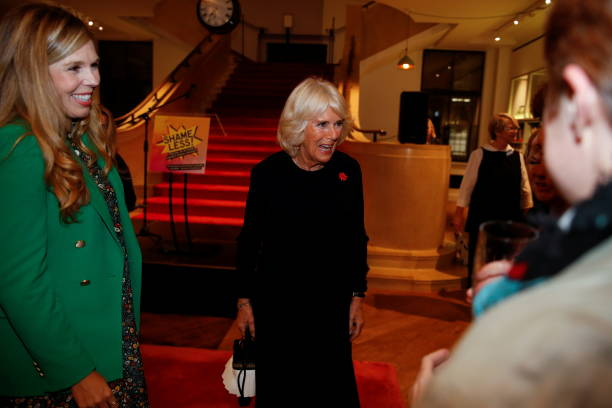 """GBR: The Duchess Of Cornwall Attends Reception For """"Shameless! Festival"""""""