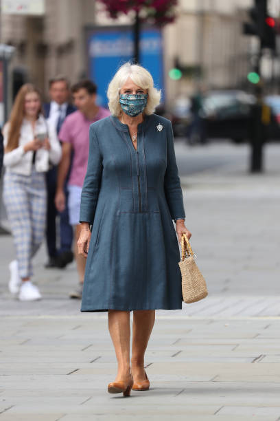 GBR: The Duchess Of Cornwall Undertakes Engagements In Central London