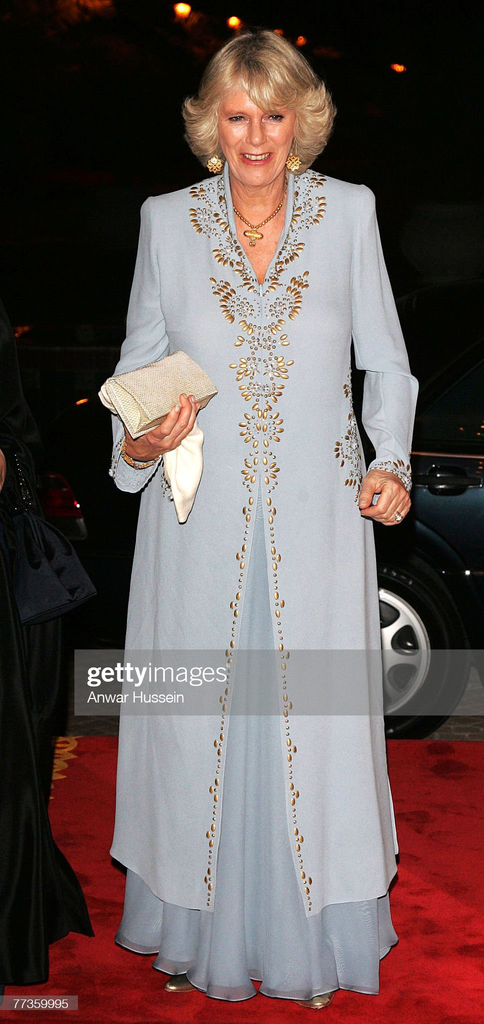 HRH Prince Charles and the Duchess of Cornwall Visit Bahrain - February 25, 2007 : News Photo