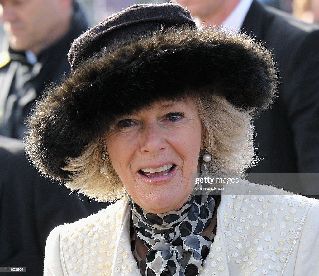 Prince Of Wales And The Duchess Of Cornwall Visit Denmark : Fotografia de notícias