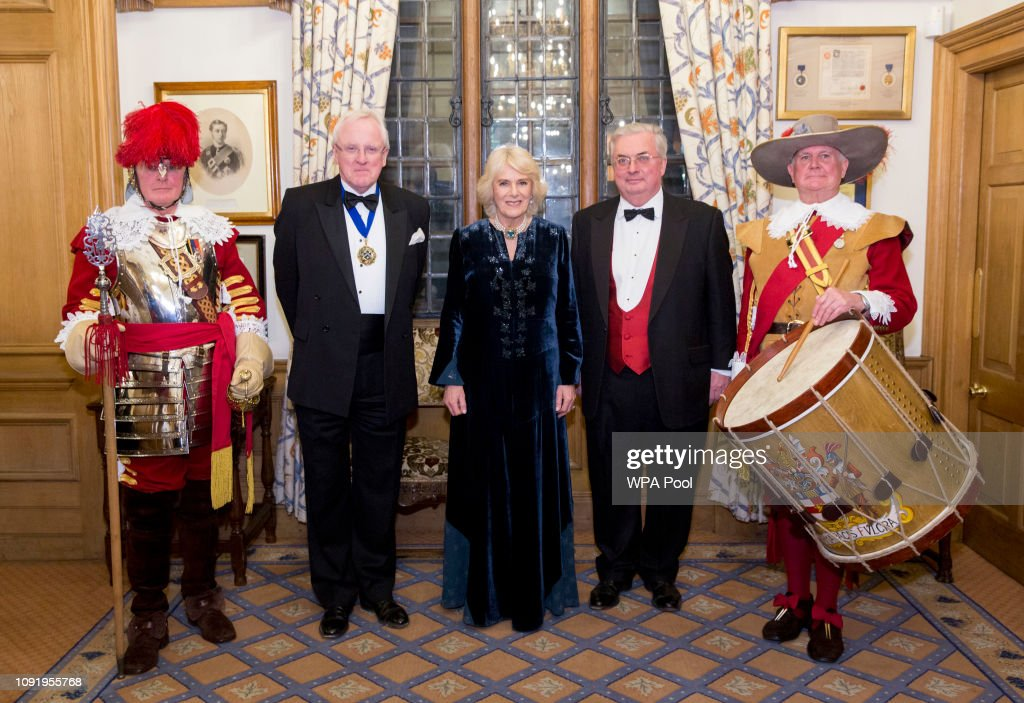 The Duchess Of Cornwall Attends Wine GB Dinner : Photo d'actualité