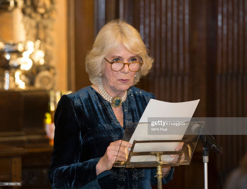 The Duchess Of Cornwall Attends Wine GB Dinner : News Photo