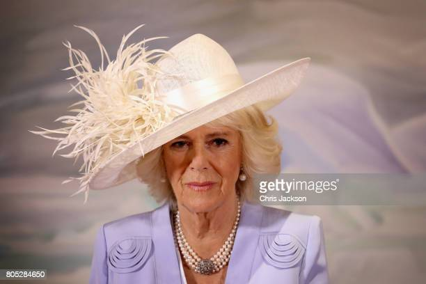 Camilla Duchess of Cornwall at Rideau Hall during a 3 day official visit to Canada on July 1 2017 in Ottawan Canada