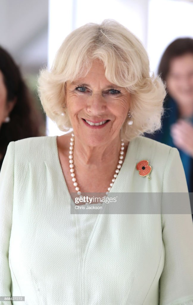 Camilla, Duchess of Cornwall attends a Commonwealth Literacy event at Temasek Junior College on October31, 2017 in Bedok, Singapore. Prince Charles, Prince of Wales and Camilla, Duchess of Cornwall are on a tour of Singapore, Malaysia, Brunei and India.