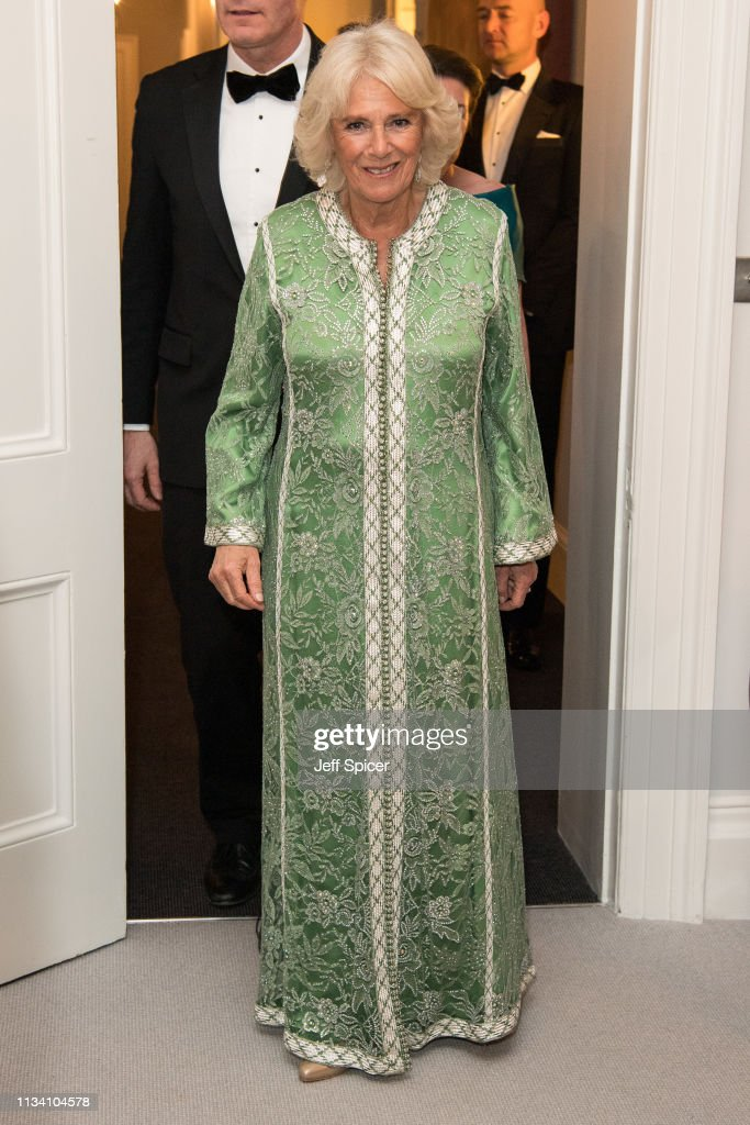 GBR: The Prince Of Wales & Duchess Of Cornwall Attend A Dinner To Mark St Patrick's Day