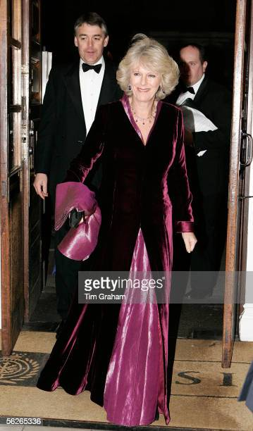 Camilla Duchess of Cornwall attends a gala at the Banqueting House as a fundraiser in aid of the Prince's Trust Charity on November 23 2005 in London