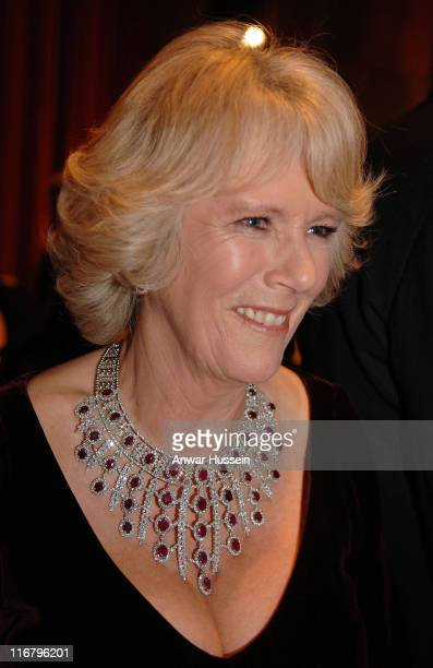 Camilla Duchess of Cornwall attends a gala concert to celebrate the 150th anniversary of the Philadelphia Academy of Music on 27th January 2007