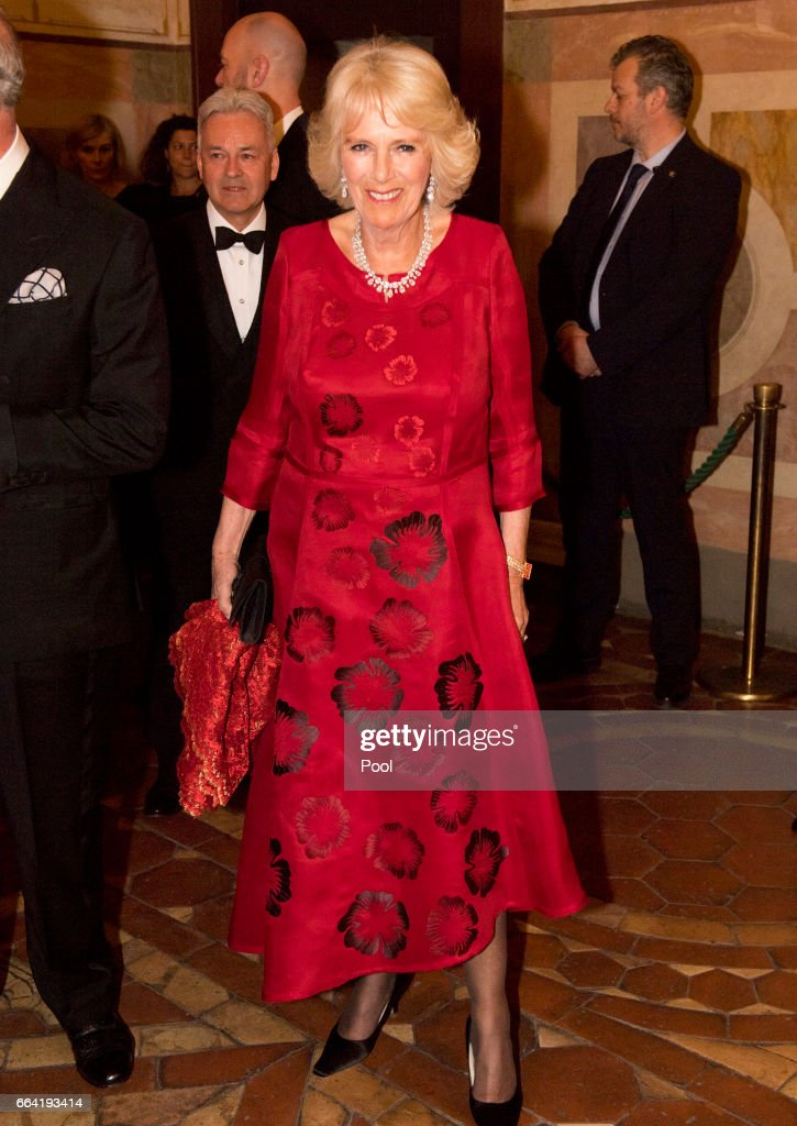The Prince Of Wales And Duchess Of Cornwall Visit Italy - Day 4 : News Photo