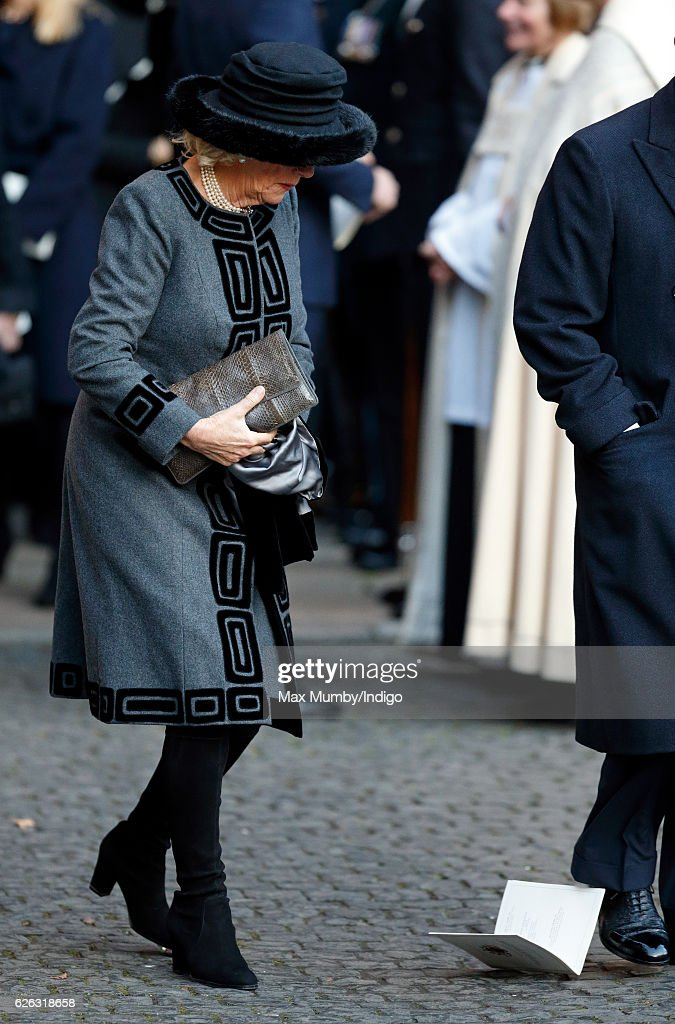 Duke Of Westminster - Memorial Service : News Photo