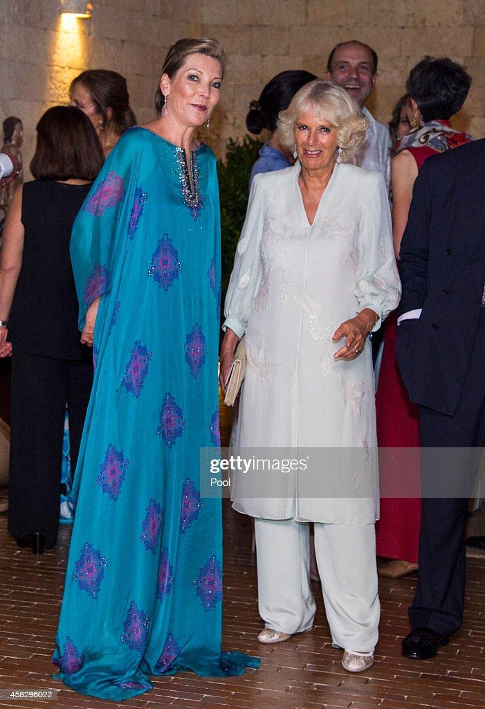 Prince Charles, Prince Of Wales And Camilla, Duchess Of Cornwall Visit Colombia - Farewell Dinner : News Photo