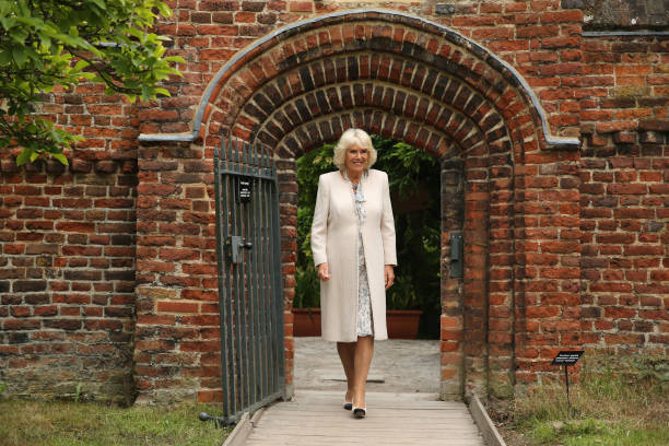 GBR: The Duchess Of Cornwall Visits Fulham Palace