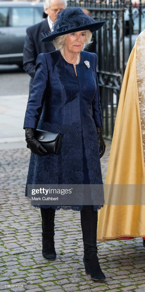 Sir Donald Gosling Service At Westminster Abbey : News Photo