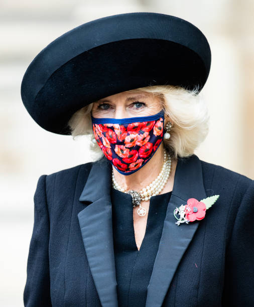 GBR: The Prince Of Wales And The Duchess Of Cornwall Attend A Service To Commemorate The Centenary Of The Burial Of The Unknown Warrior