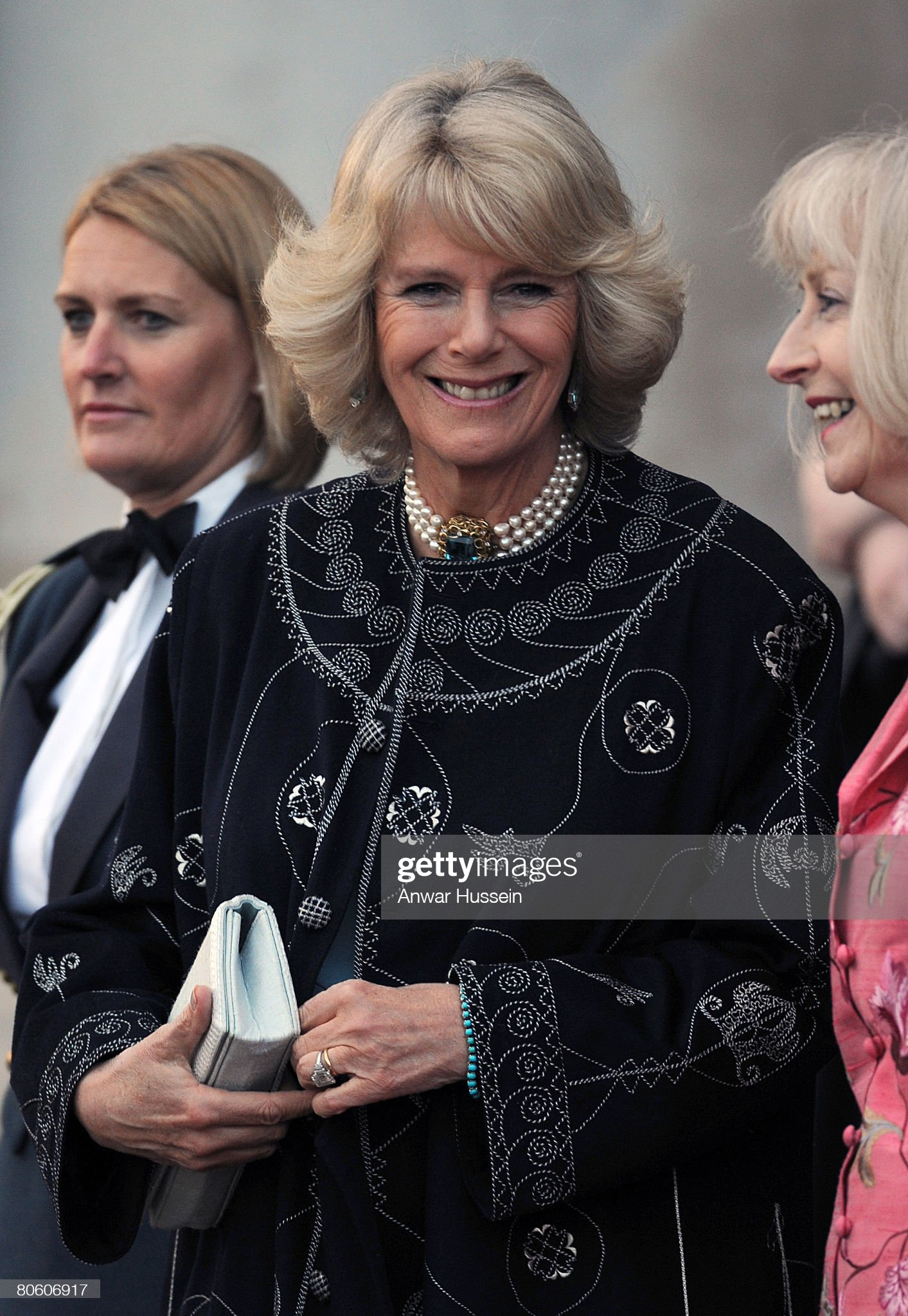 Prince of Wales, Duchess of Cornwall, Prince William Attend RAF Cranwe : News Photo
