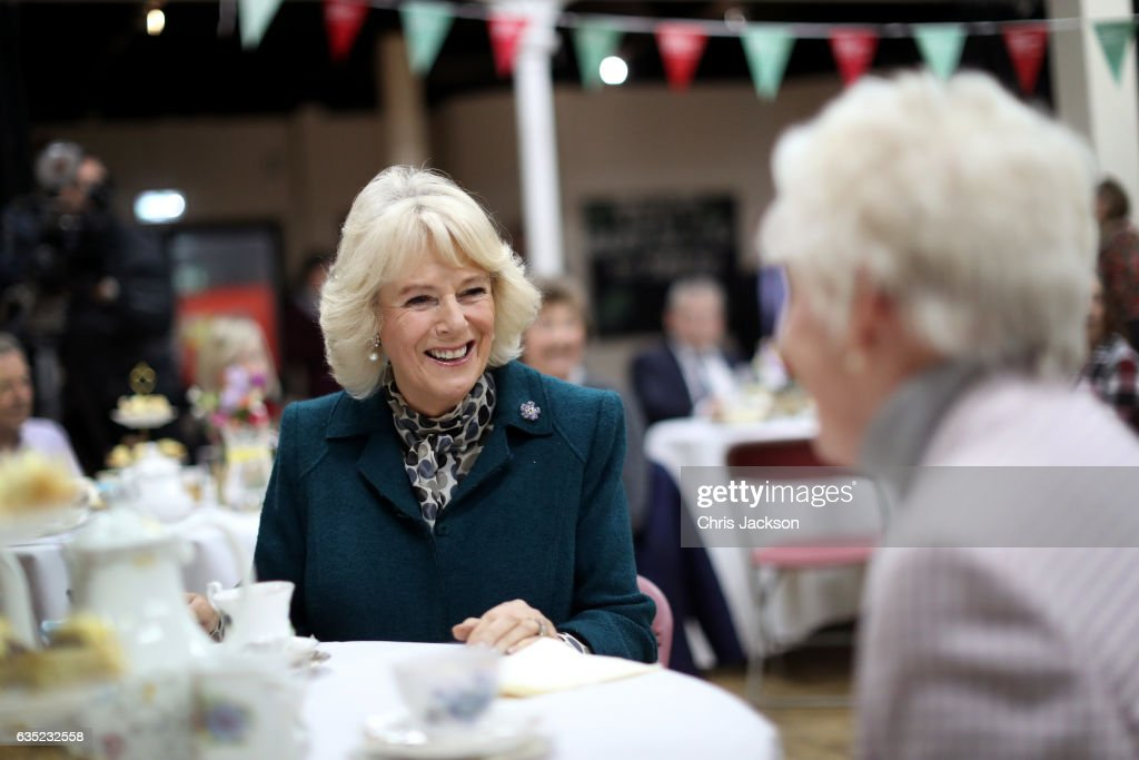 The Duchess Of Cornwall Visits Bristol