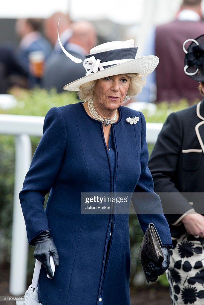 Camilla, Duchess of Cornwall attends day 5 of Royal Ascot at Ascot Racecourse on June 18, 2016 in Ascot, England.
