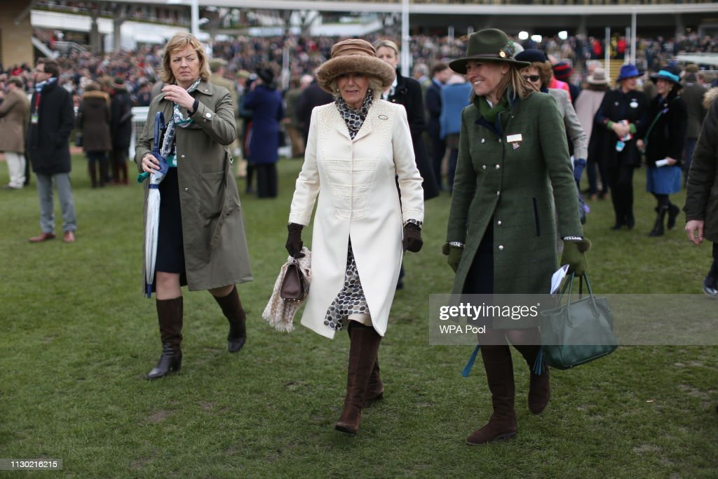 The Duchess Of Cornwall Attends The Cheltenham Festival : News Photo