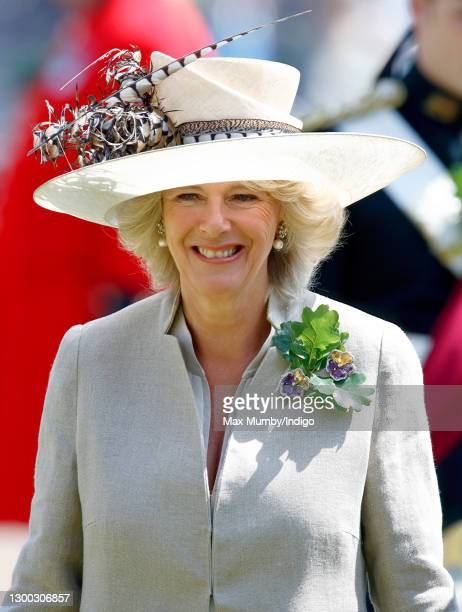 Camilla, Duchess of Cornwall attends the annual Founder's Day Parade at the Royal Hospital Chelsea on June 9, 2005 in London, England. Founder's Day...