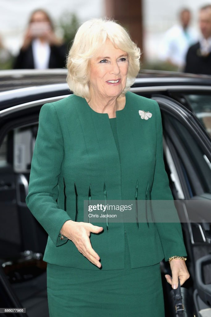 The Duchess Of Cornwall Attends The Annual ICAP Charity Day