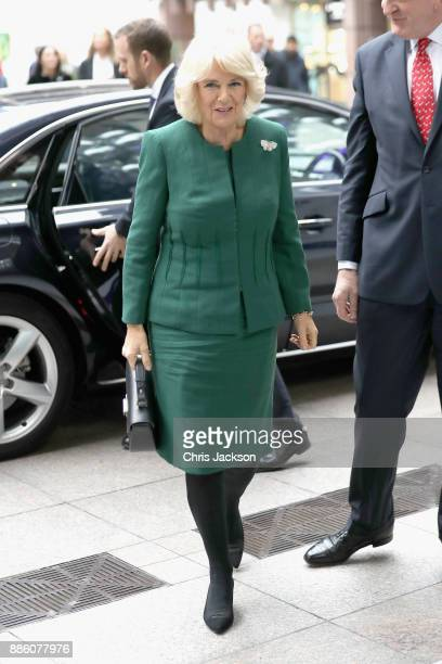 Camilla Duchess of Cornwall attends the annual ICAP charity day at ICAP on December 5 2017 in London England