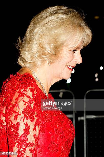 Camilla Duchess of Cornwall attends the annual Royal Variety Performance at Eventim Apollo on December 6 2016 in London England