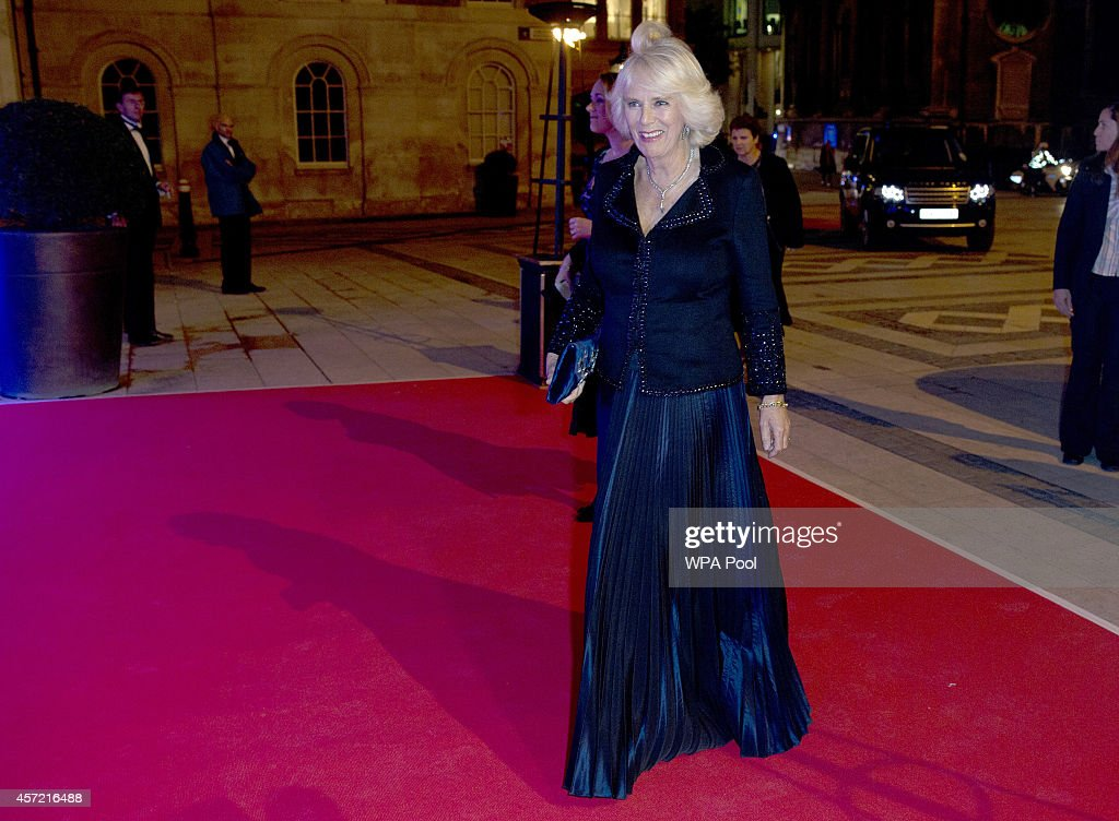 Camilla, Duchess of Cornwall Attends Awards Dinner For The Man Booker For Fiction 2014 : News Photo