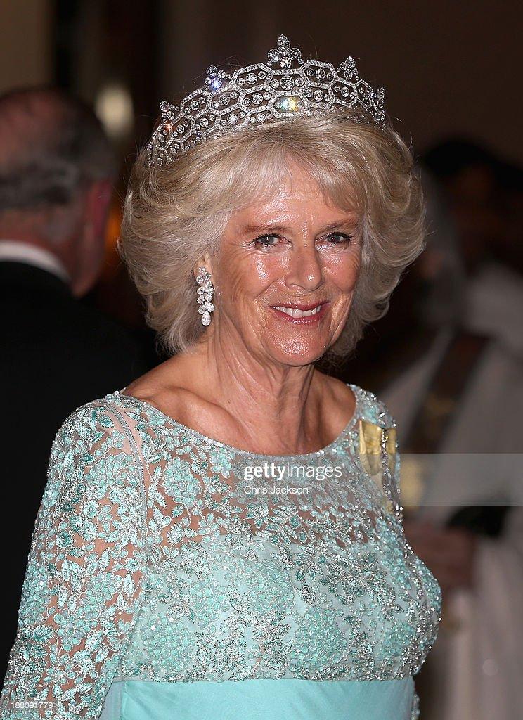 The Prince Of Wales And Duchess Of Cornwall Visit Sri Lanka - Day 2 : News Photo