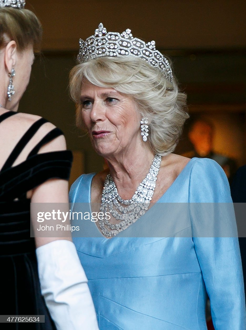 The Prince Of Wales & Duchess Of Cornwall Attend The Duke Of Wellington's Waterloo Banquet : News Photo