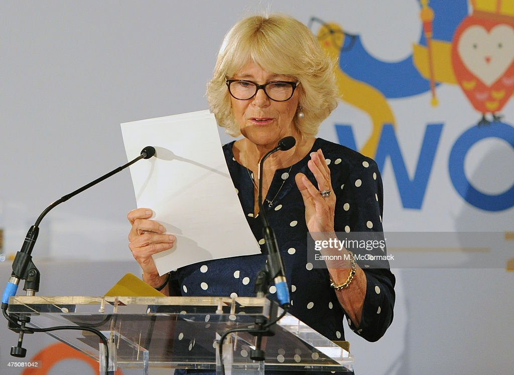 The Duchess Of Cornwall Attends The Final Of BBC2's 500 Words Competition : News Photo