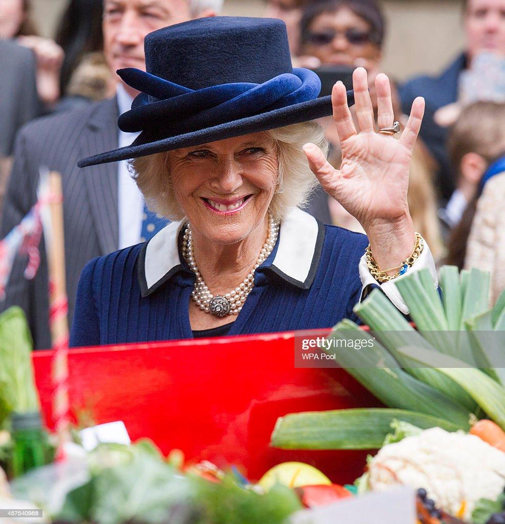Camilla, Duchess of Cornwall Visits Birmingham : News Photo