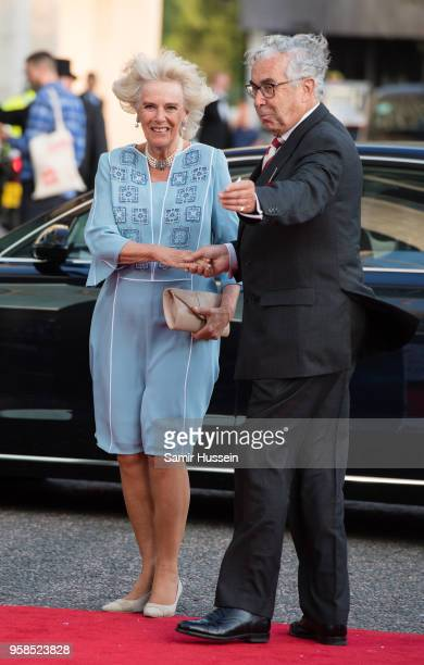 Camilla Duchess of Cornwall attends the 'NHS Heroes Awards' held at the Hilton Park Lane on May 14 2018 in London England
