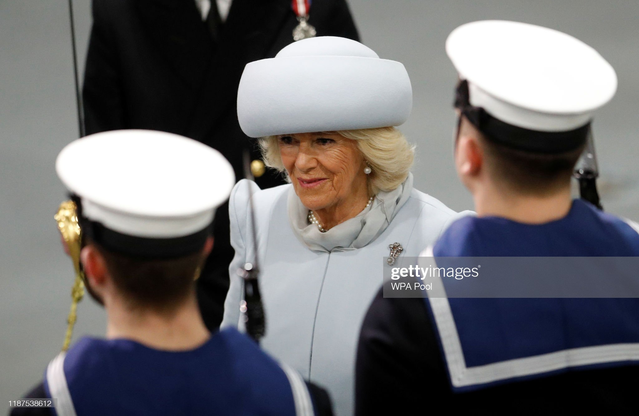 camilla-duchess-of-cornwall-attends-the-official-commissioning-of-picture-id1187538612