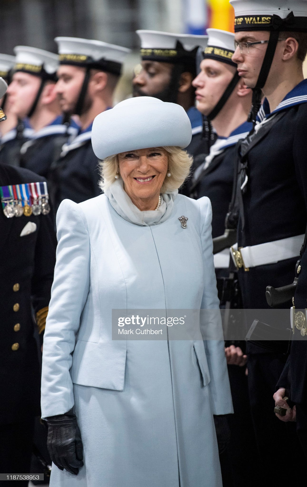 camilla-duchess-of-cornwall-attends-the-official-commissioning-of-picture-id1187538953