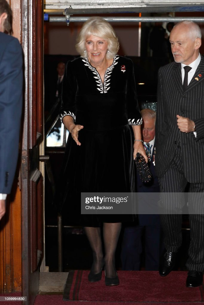 The Royal Family Attend The Festival Of Remembrance : News Photo