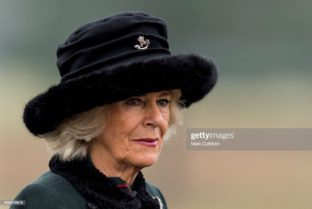 The Duchess Of Cornwall Attends The Sovereign's Parade : News Photo