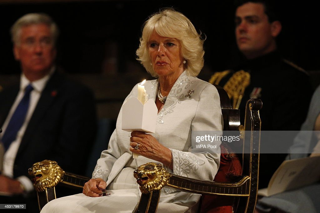 The Duchess Of Cornwall Attends The Vigil Of Prayer Service : News Photo