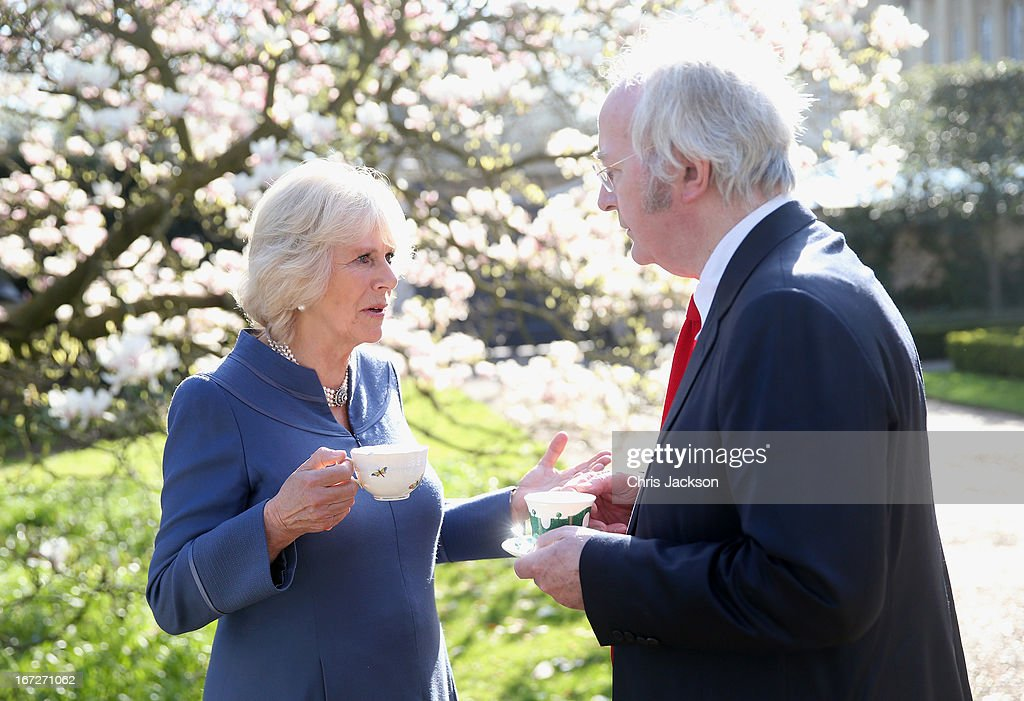 The Duchess Of Cornwall Hosts A Tea Party To Celebrate The 5th Anniversary Of First Story : News Photo