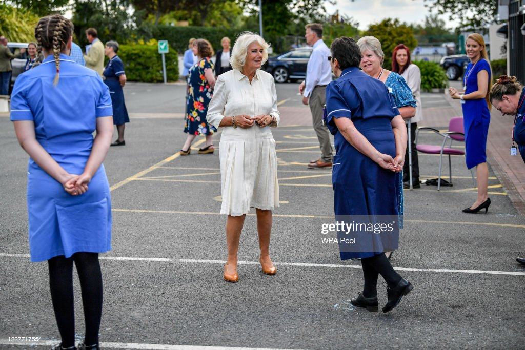 The Duke And The Duchess Of Cornwall Undertake Engagements In Devon And Cornwall - Day Two : News Photo