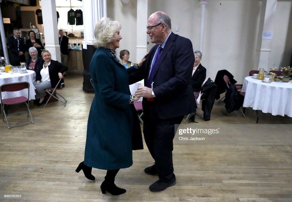 The Duchess Of Cornwall Visits Bristol : News Photo