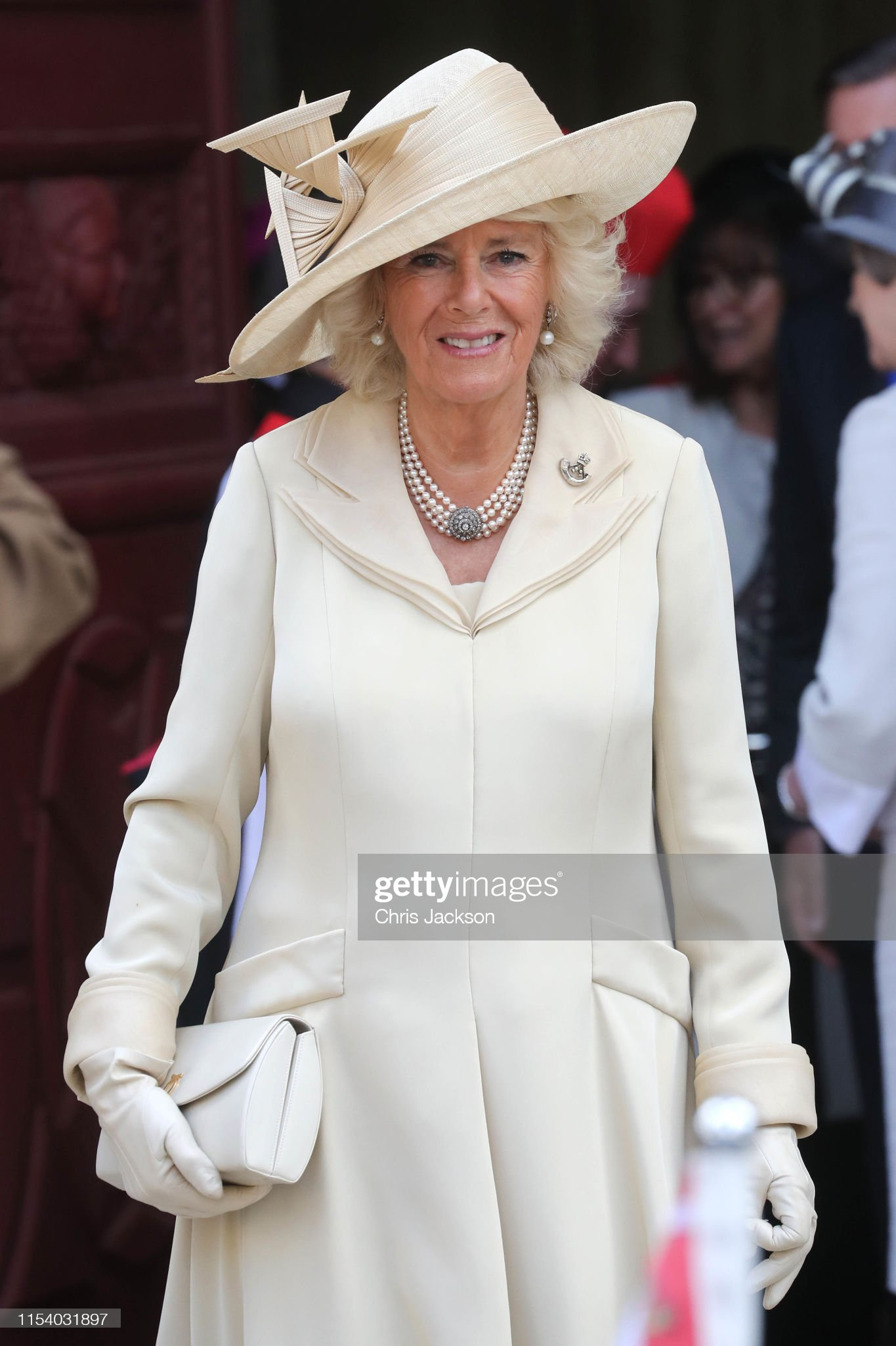 camilla-duchess-of-cornwall-departs-bayeux-cathedral-on-june-06-2019-picture-id1154031897